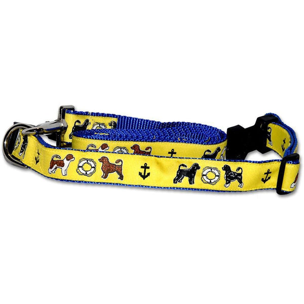 Portuguese Water Dog Collar and Leash Set