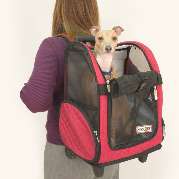 Roll Around Travel Dog Carrier Backpack
