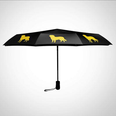 Golden Retriever Tote Size Umbrella