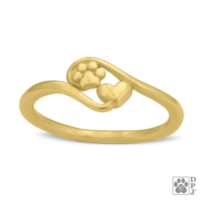 Close To My Heart 14K Gold Ring