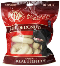 Beefhide Donut Dog Treats