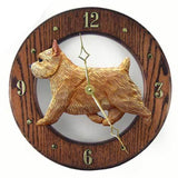 Norwich Terrier Wall Clock