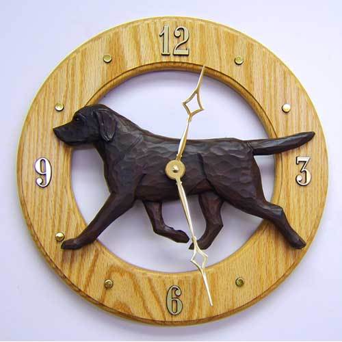 Labrador Retriever Wall Clock