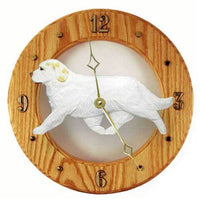 Clumber Spaniel Wall Clock