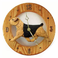 Norfolk Terrier Wall Clock
