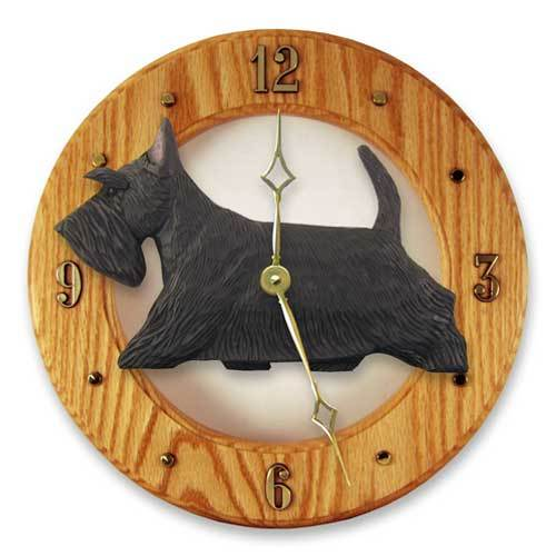 Scottish Terrier Wall Clock