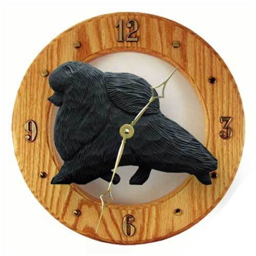 Pomeranian Wall Clock