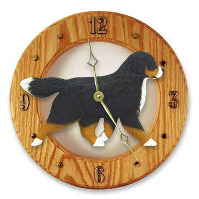 Bernese Mountain Dog Wall Clock