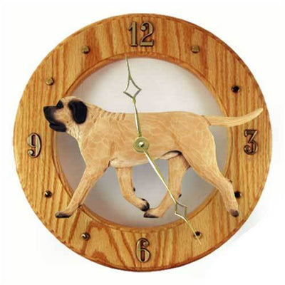 Mastiff Wall Clock