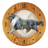 Collie Wall Clock