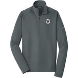 Embroidered Eddie Bauer Mens Base Layer Fleece Irongate Gray 3X-Large Norwegian Elkhound D144