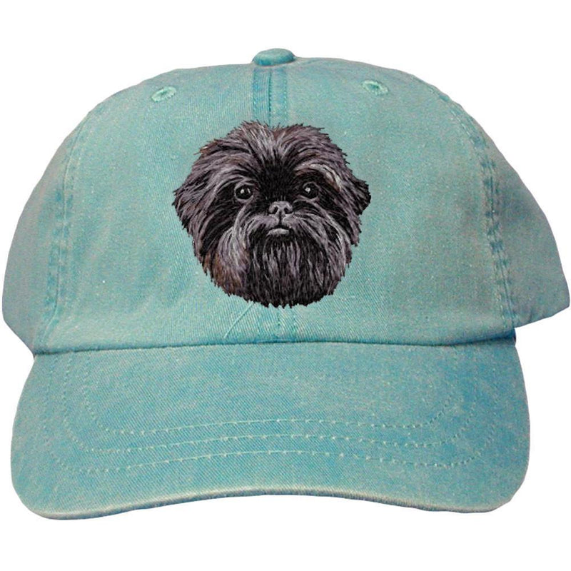 Embroidered Baseball Caps Turquoise  Affenpinscher DM488