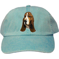 Basset Hound Embroidered Baseball Cap
