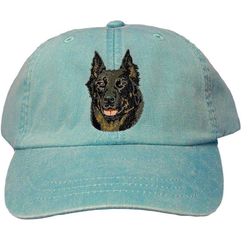 Embroidered Baseball Caps Turquoise  Beauceron DV165