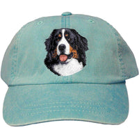 Bernese Mountain Dog Embroidered Baseball Cap