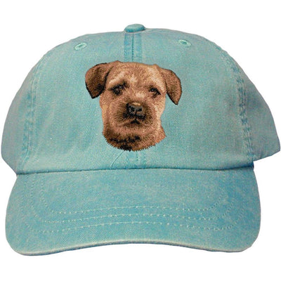 Border Terrier Embroidered Baseball Caps