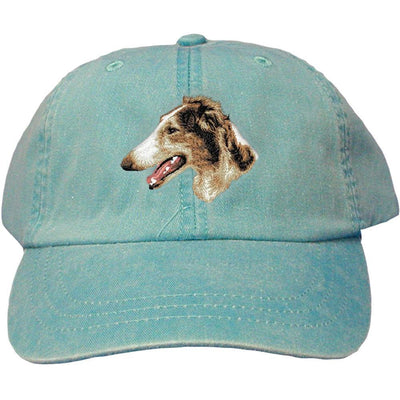 Borzoi Embroidered Baseball Caps