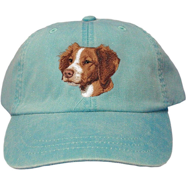Embroidered Baseball Caps Turquoise  Brittany D102