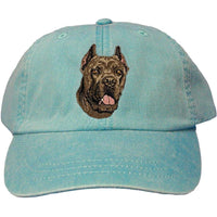 Cane Corso Embroidered Baseball Caps