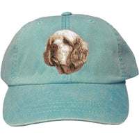 Clumber Spaniel Embroidered Baseball Caps
