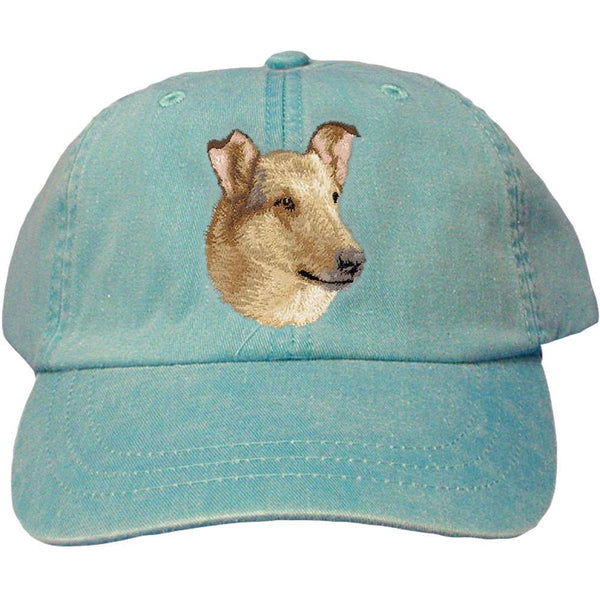 Embroidered Baseball Caps Turquoise  Collie D150