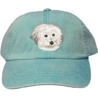 Coton de Tulear Embroidered Baseball Caps