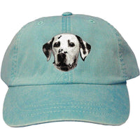 Dalmatian Embroidered Baseball Caps