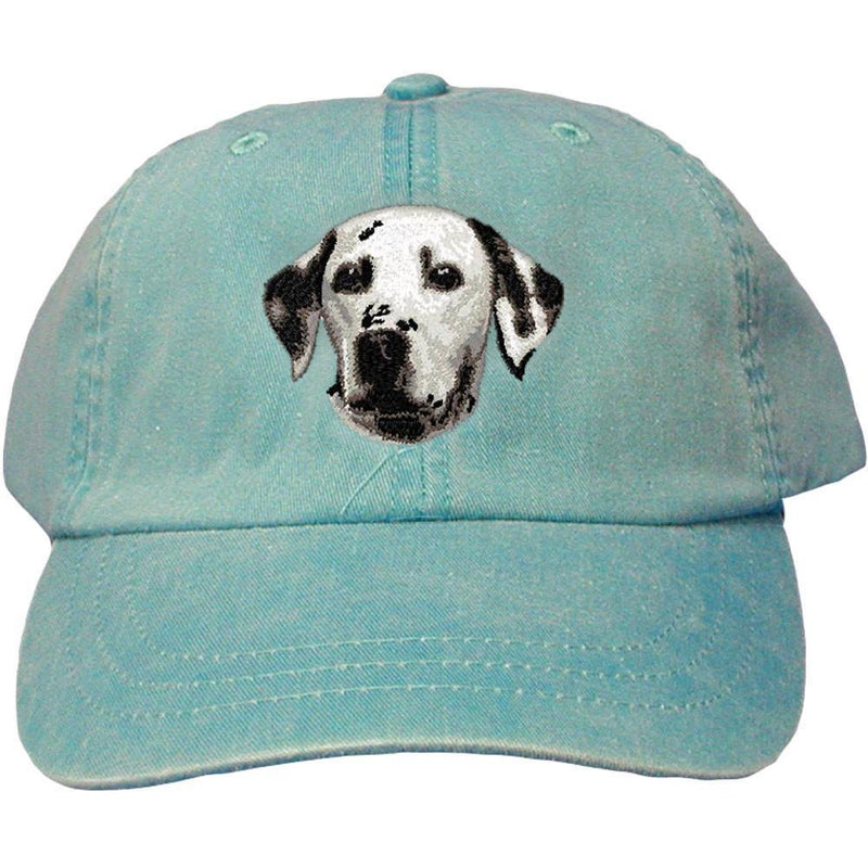 Embroidered Baseball Caps Turquoise  Dalmatian D2