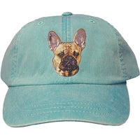 French Bulldog Embroidered Baseball Caps