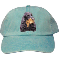 Gordon Setter Embroidered Baseball Caps