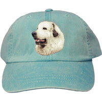 Great Pyrenees Embroidered Baseball Caps