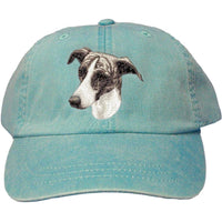 Greyhound Embroidered Baseball Caps