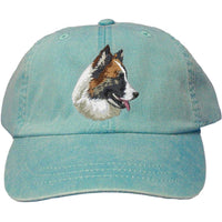 Icelandic Sheepdog Embroidered Baseball Caps