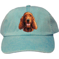 Irish Setter Embroidered Baseball Caps