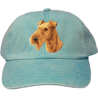 Irish Terrier Embroidered Baseball Caps