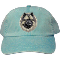 Keeshond Embroidered Baseball Caps