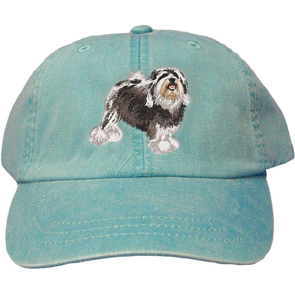 Embroidered Baseball Caps Turquoise  Lowchen DJ325