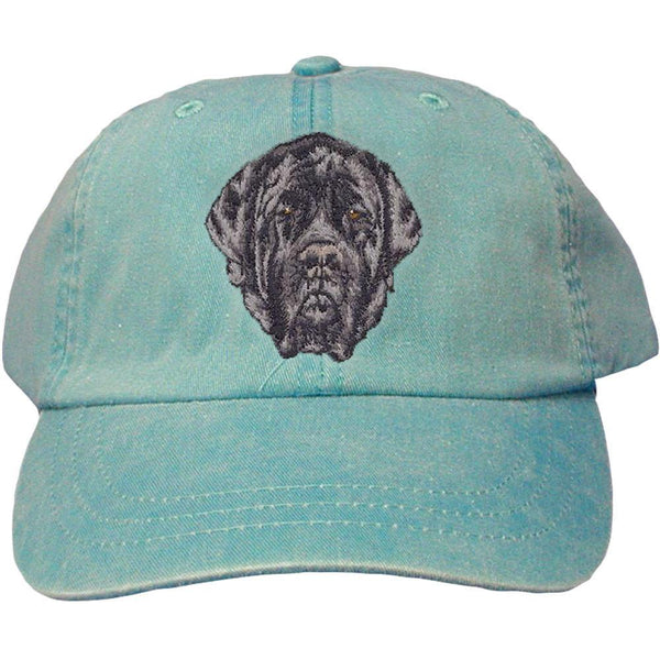 Embroidered Baseball Caps Turquoise  Mastiff D135