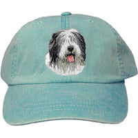 Old English Sheepdog Embroidered Baseball Caps