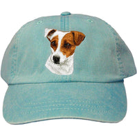 Parson Russell Terrier Embroidered Baseball Caps