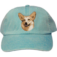 Pembroke Welsh Corgi Embroidered Baseball Caps