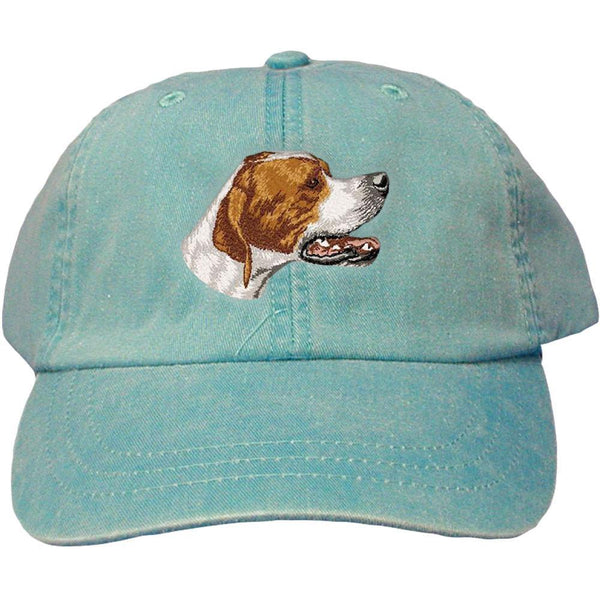 Embroidered Baseball Caps Turquoise  Pointer DV465