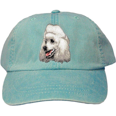 Poodle Embroidered Baseball Caps