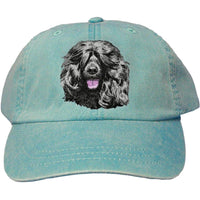 Portuguese Water Dog Embroidered Baseball Caps
