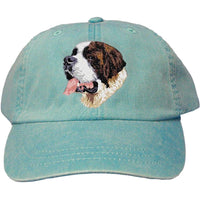 Saint Bernard Embroidered Baseball Caps