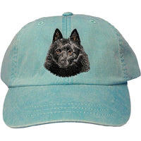 Schipperke Embroidered Baseball Caps
