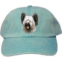 Skye Terrier Embroidered Baseball Caps