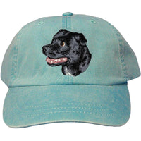 Staffordshire Bull Terrier Embroidered Baseball Caps