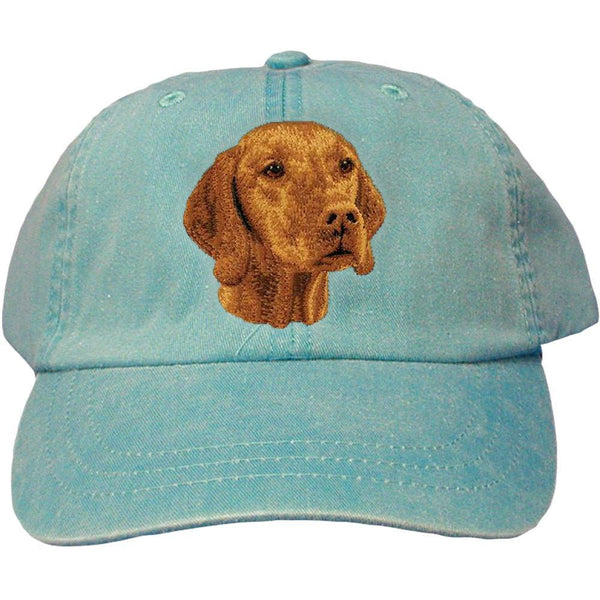 Embroidered Baseball Caps Turquoise  Vizsla D93