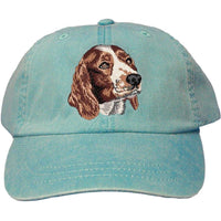 Welsh Springer Spaniel Embroidered Baseball Caps